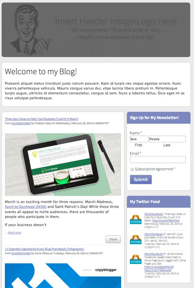 Blogger-RSS
