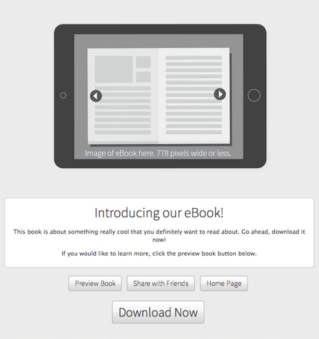 eBook-template