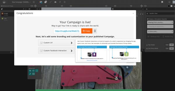 publish campaign