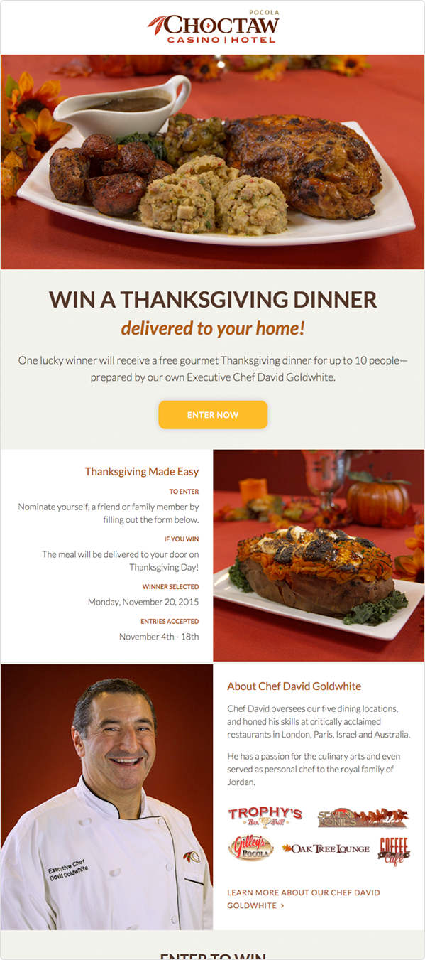20 Thanksgiving Campaign Ideas, Including Examples and Templates