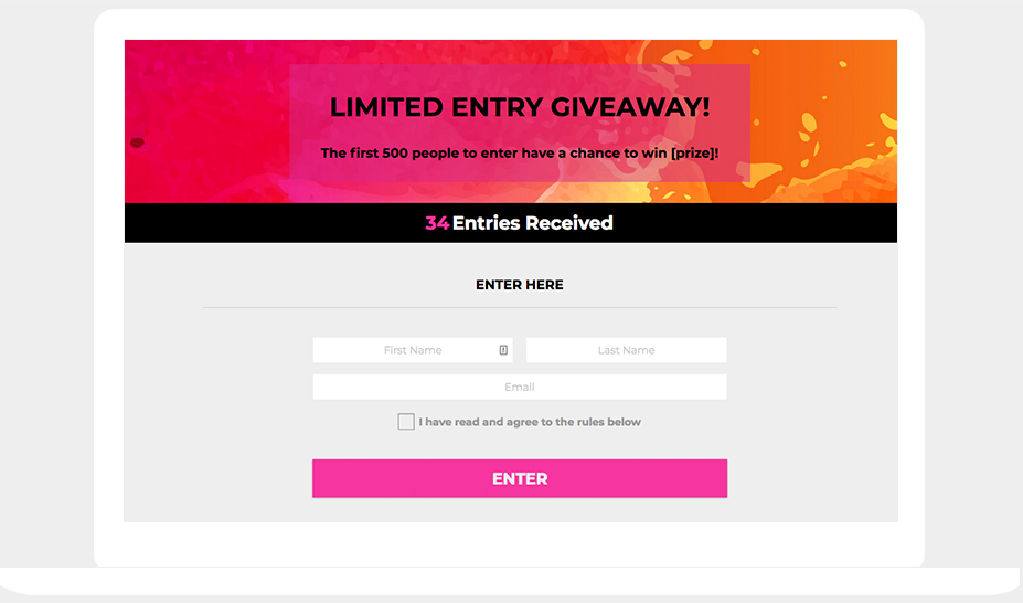 The complete 12-month marketing plan for contests, giveaways