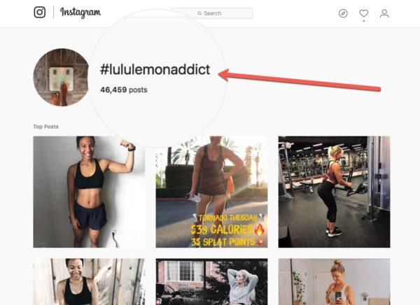 #lululemonaddict for hashtag contest