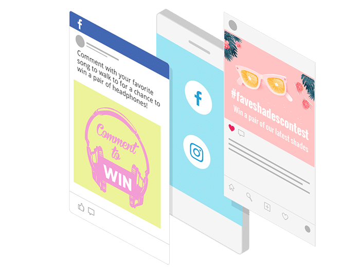 Generate buss with social contests on your favorite platforms